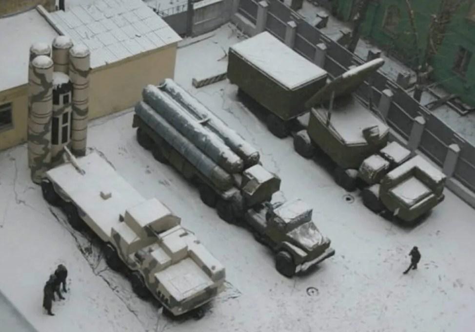ロシア軍の風船兵器