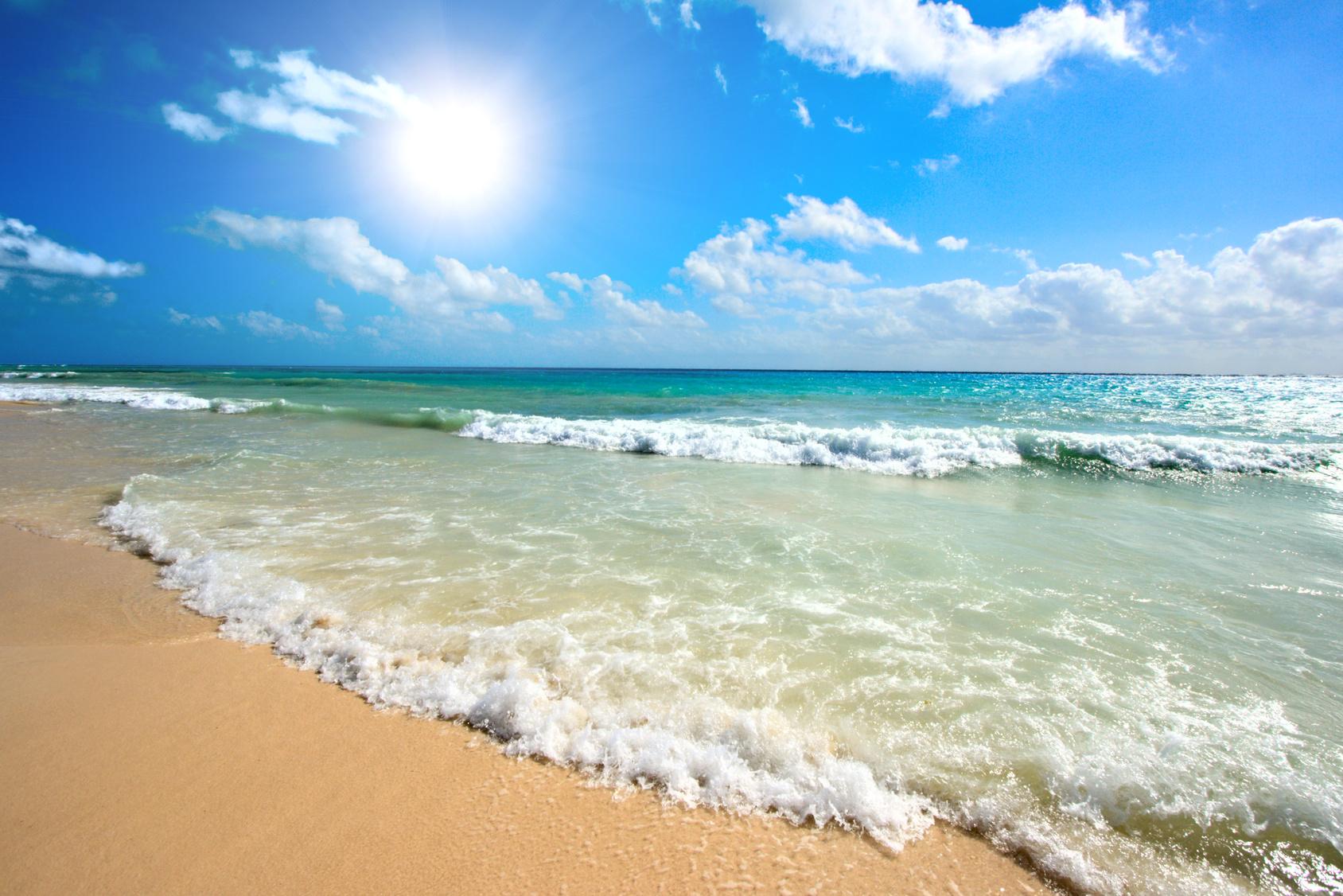 Beautiful beach and sea