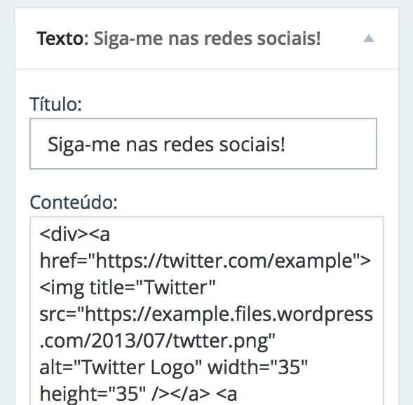 social-text-widget