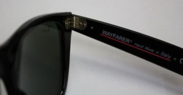 01ee45102 Como Identificar Óculos Ray-Ban Falsos: O Nosso Guia - EyeStyle - O ...