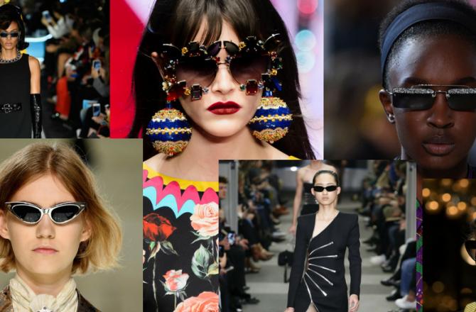 Os cincos óculos mais sexy lançados no Fashion Week