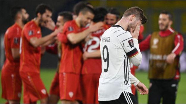 Alemanha dá vexame e cai para Macedônia do Norte