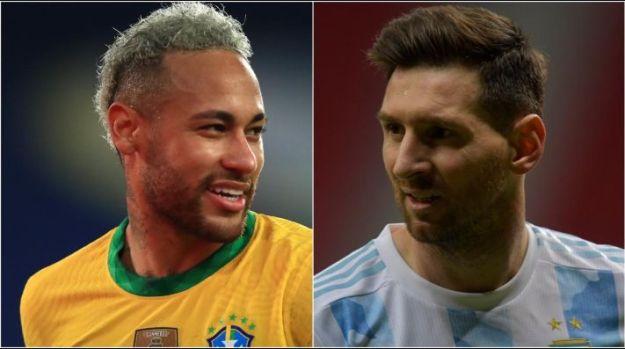 Como chegam Brasil e Argentina para a final da Copa América. (Foto: Getty Images)