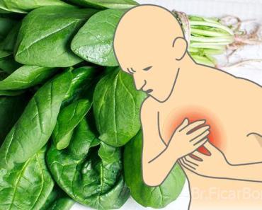 deficiência de magnésio espinafre