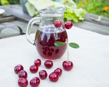 bebidas para artrite suco de cereja