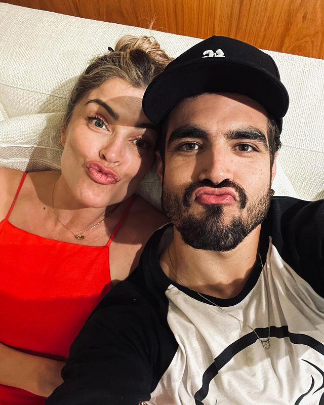 Grazi Massafera and Caio Castro ended their relationship on the eve of celebrating two years together (Photo: Instagram)