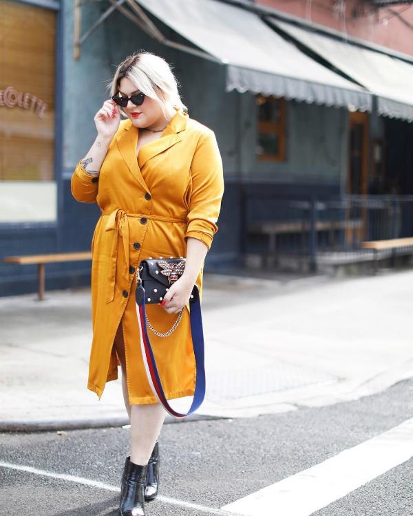 Nicolette Mason - vestido-amarelo - cor - verão - street-style