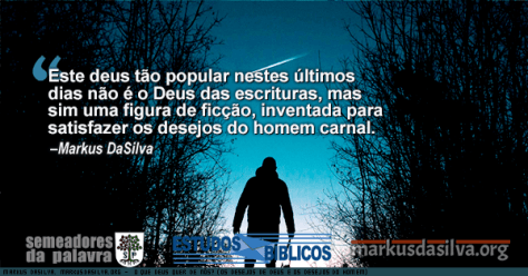 Homem subindouma montanha com neve ao entardecer com texto O Que Deus Quer de Nós? (Os Desejos de Deus e os Desejos do Homem)