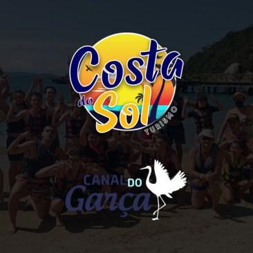 Costa do Sol Turismo e Canal do Garça no Youtube