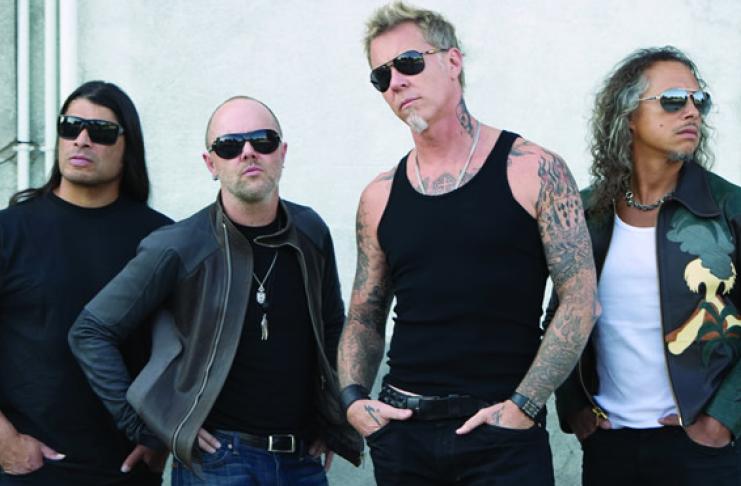 """Resultado de imagem para Metallica recebe o """"prêmio Nobel da música"""""""