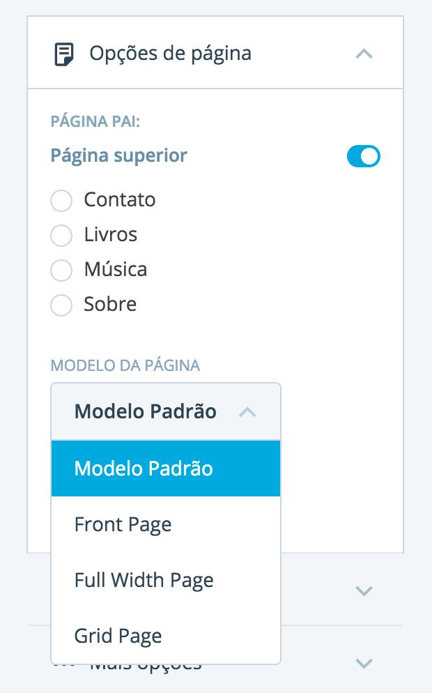 Modelos de página
