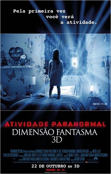Atividade Paranormal: Dimensão Fantasma : Poster