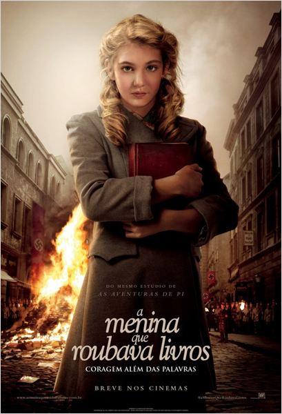 Poster do filme A Menina que Roubava Livros