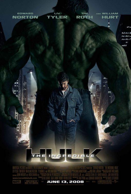 Poster do filme O Incrível Hulk