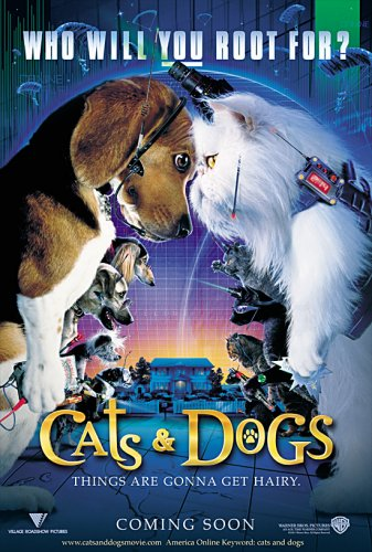 Poster do filme Como Cães e Gatos