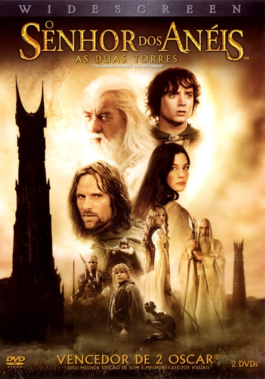 Poster do filme O Senhor dos Anéis: As Duas Torres