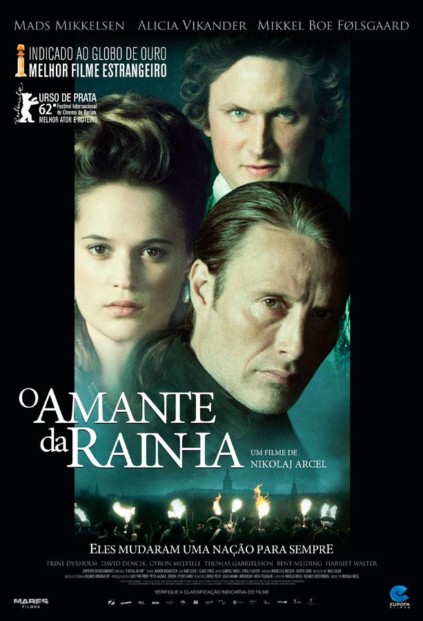 Poster do filme O Amante da Rainha