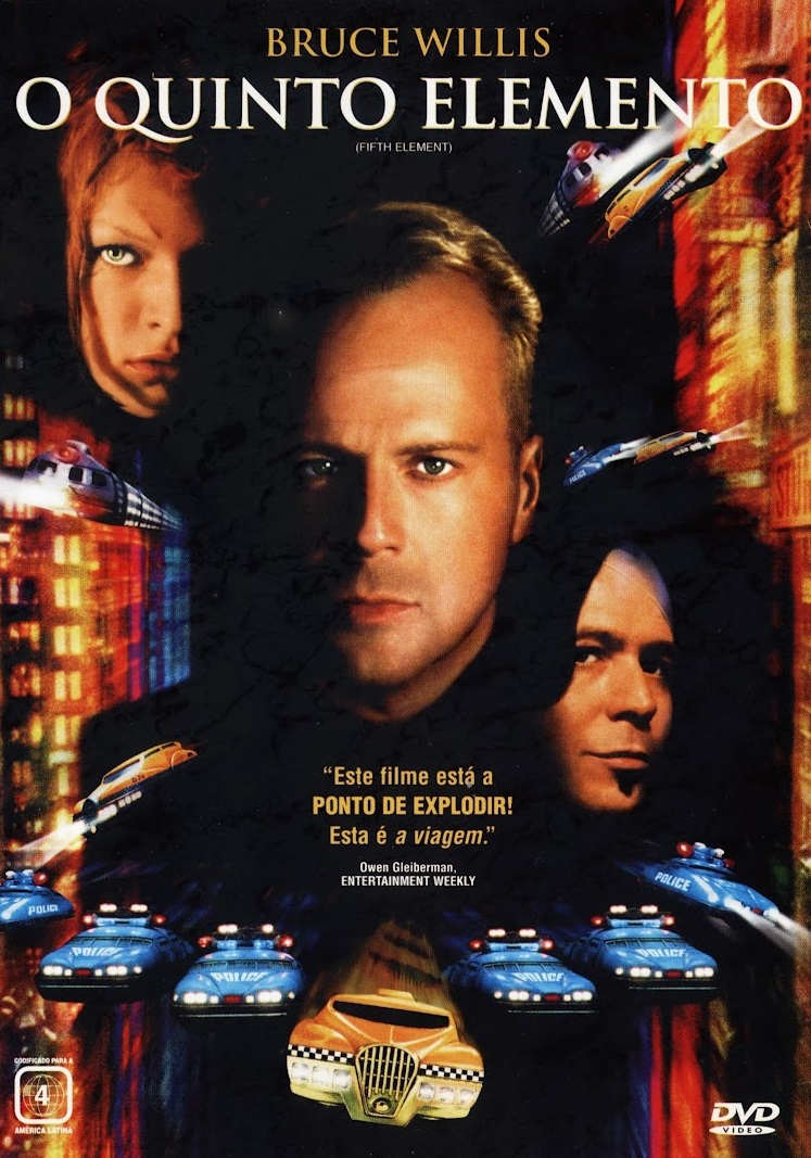 Poster do filme O Quinto Elemento