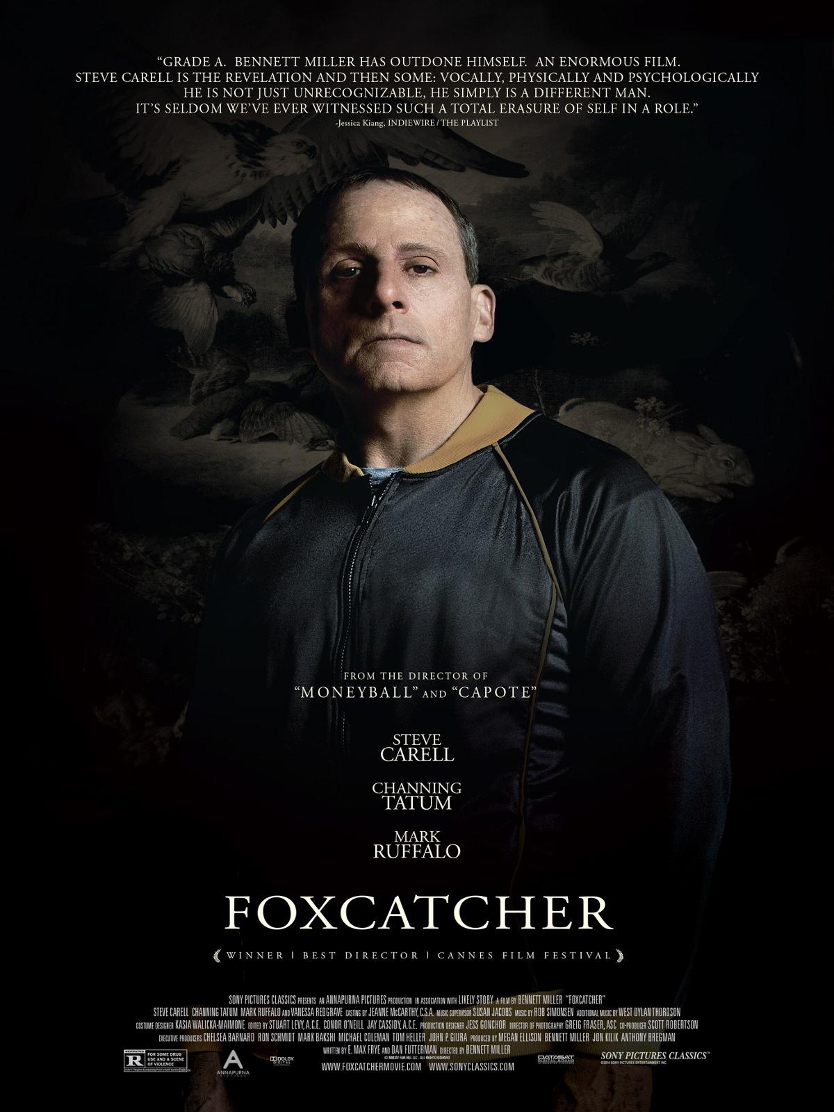 Poster do filme Foxcatcher: Uma História que Chocou o Mundo