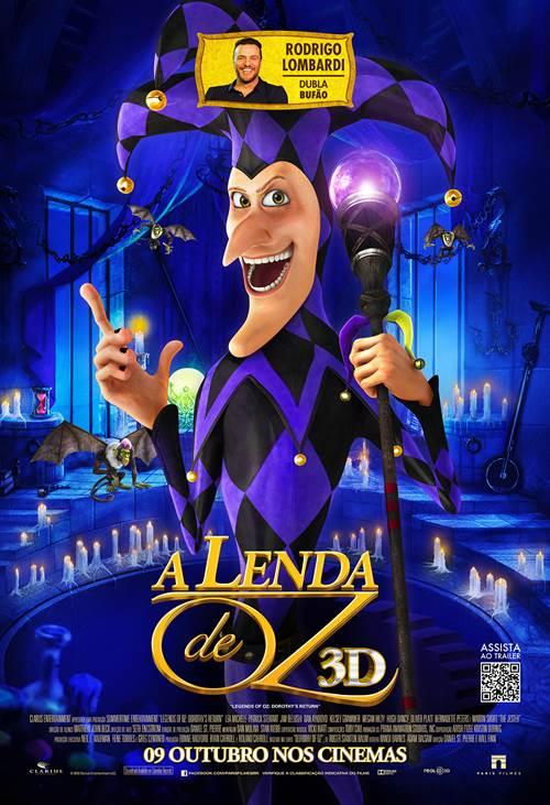 Poster do filme A Lenda de Oz