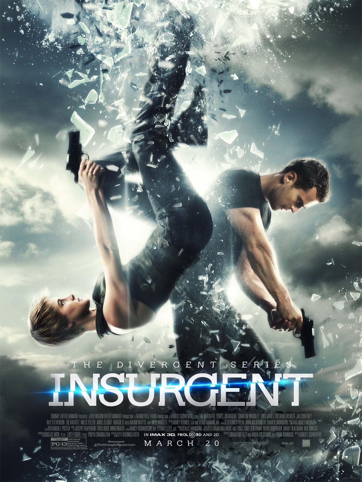 Poster do filme A série divergente: insurgente