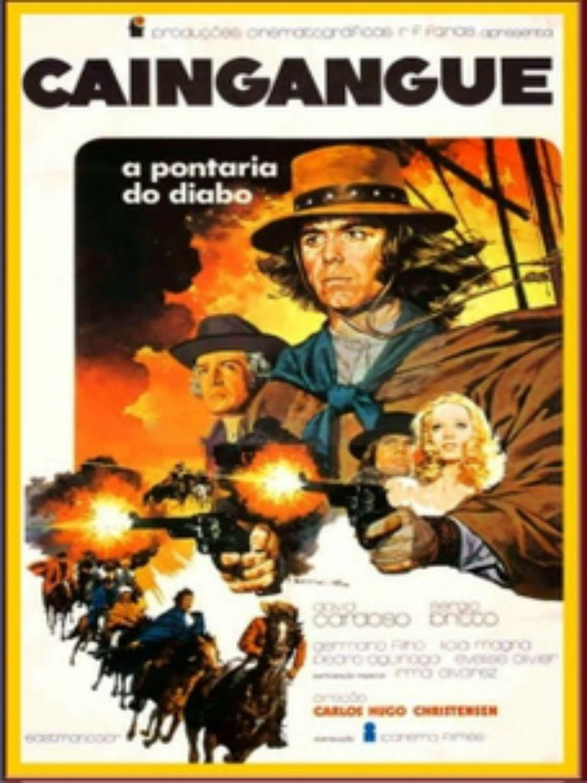 Poster do filme Caingangue, A Pontaria do Diabo