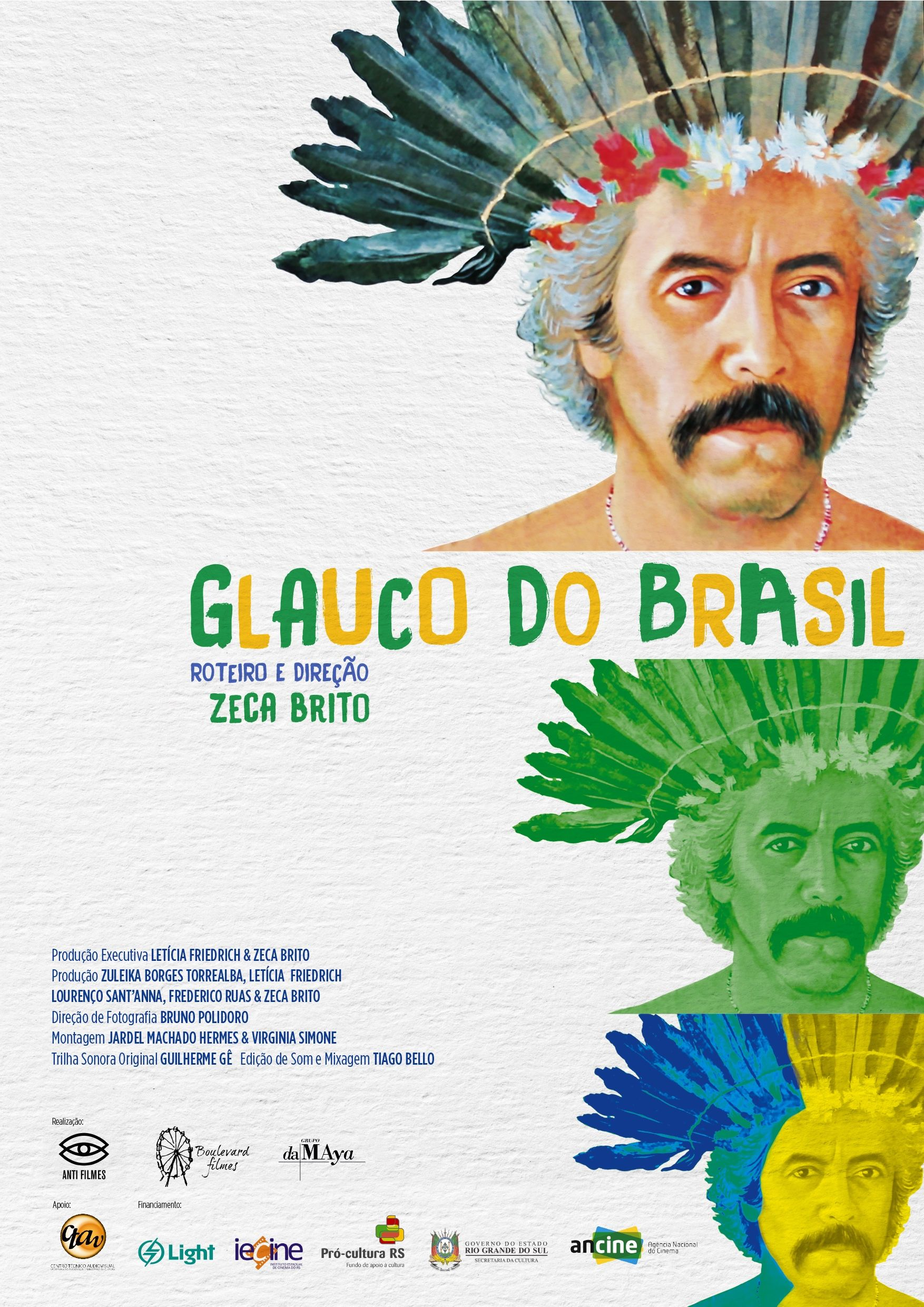 Poster do filme Glauco do Brasil