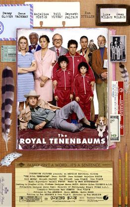 Poster do filme Os Excêntricos Tenenbaums