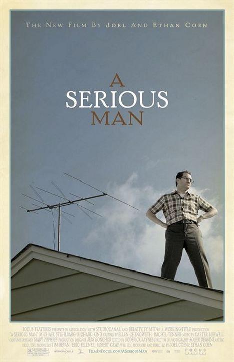 Poster do filme Um Homem Sério
