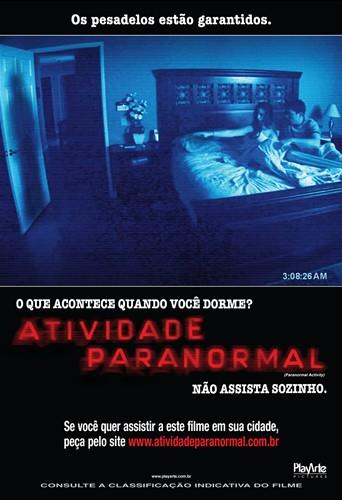 Poster do filme Atividade Paranormal