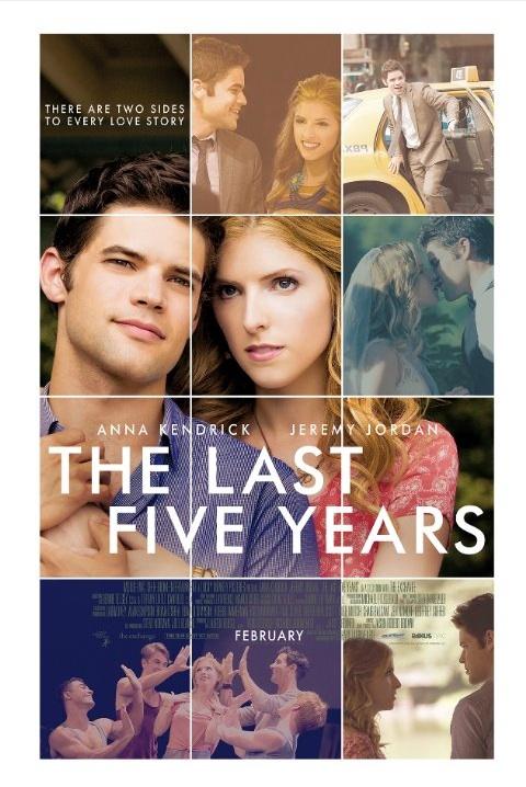Poster do filme Os últimos 5 anos