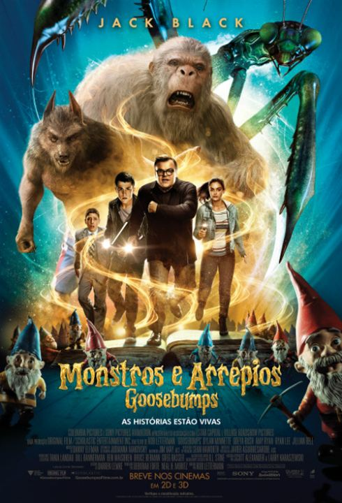Poster do filme Goosebumps - Monstros e Arrepios