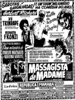 Poster do filme O Massagista