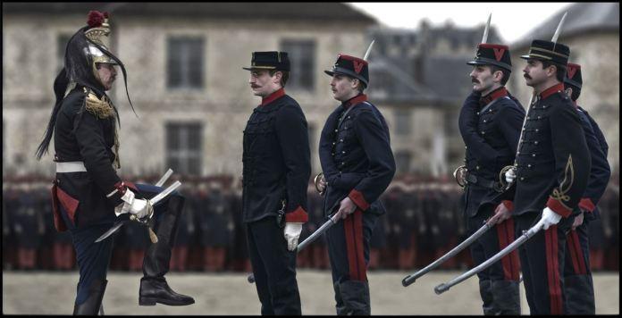 O Oficial e o Espião : Foto Louis Garrel