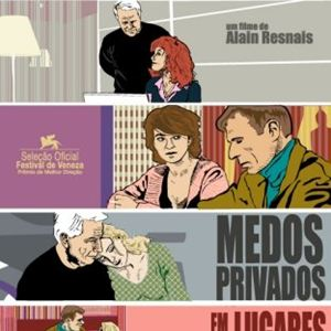 Poster do filme Medos Privados em Lugares Públicos
