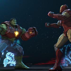 Poster do filme Homem de Ferro e Hulk: Super-Heróis Unidos