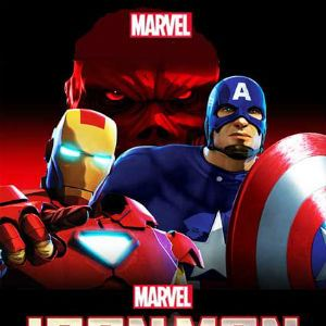 Poster do filme Homem de Ferro e Capitão América: Super-Heróis Unidos