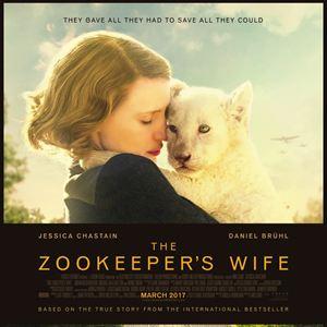 Poster do filme O Zoológico de Varsóvia