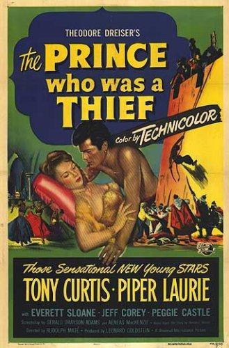 Poster do filme O Príncipe Ladrão