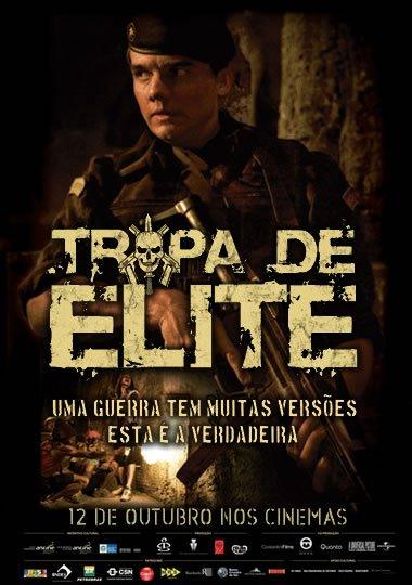 Poster do filme Tropa de Elite