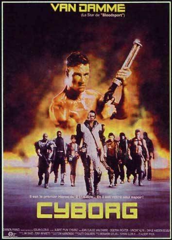 Poster do filme Cyborg, O Dragão do Futuro