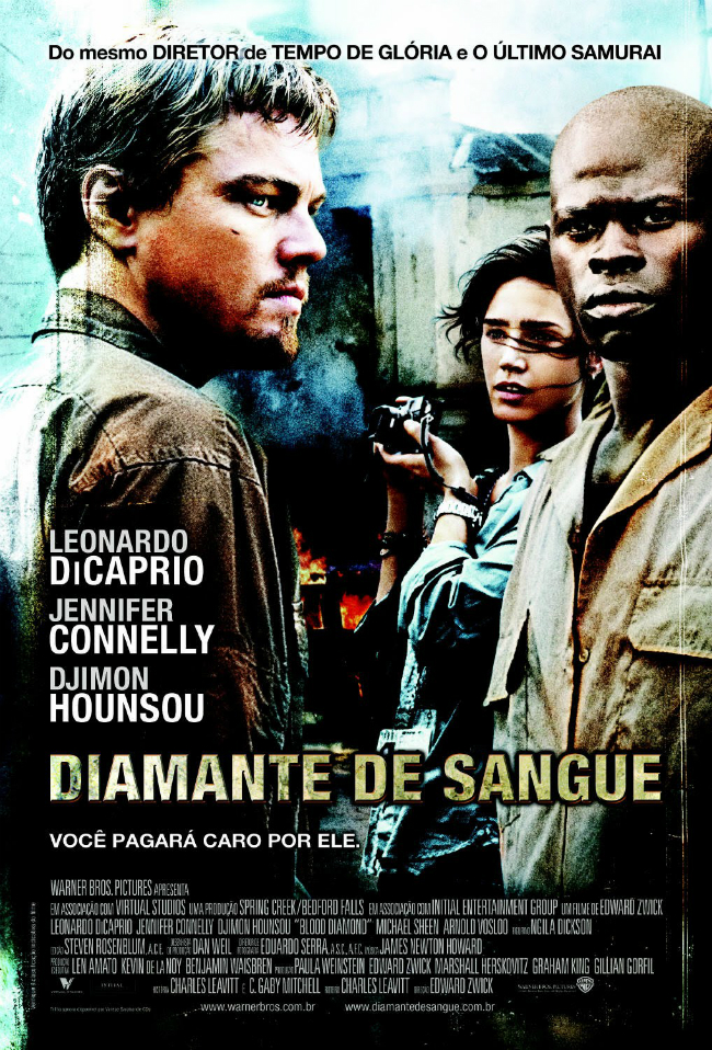 Poster do filme Diamante de Sangue