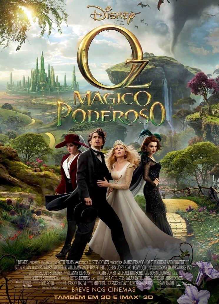 Poster do filme Oz - mágico e poderoso