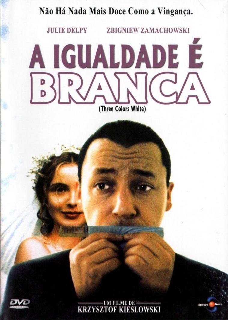 Poster do filme A Igualdade é Branca