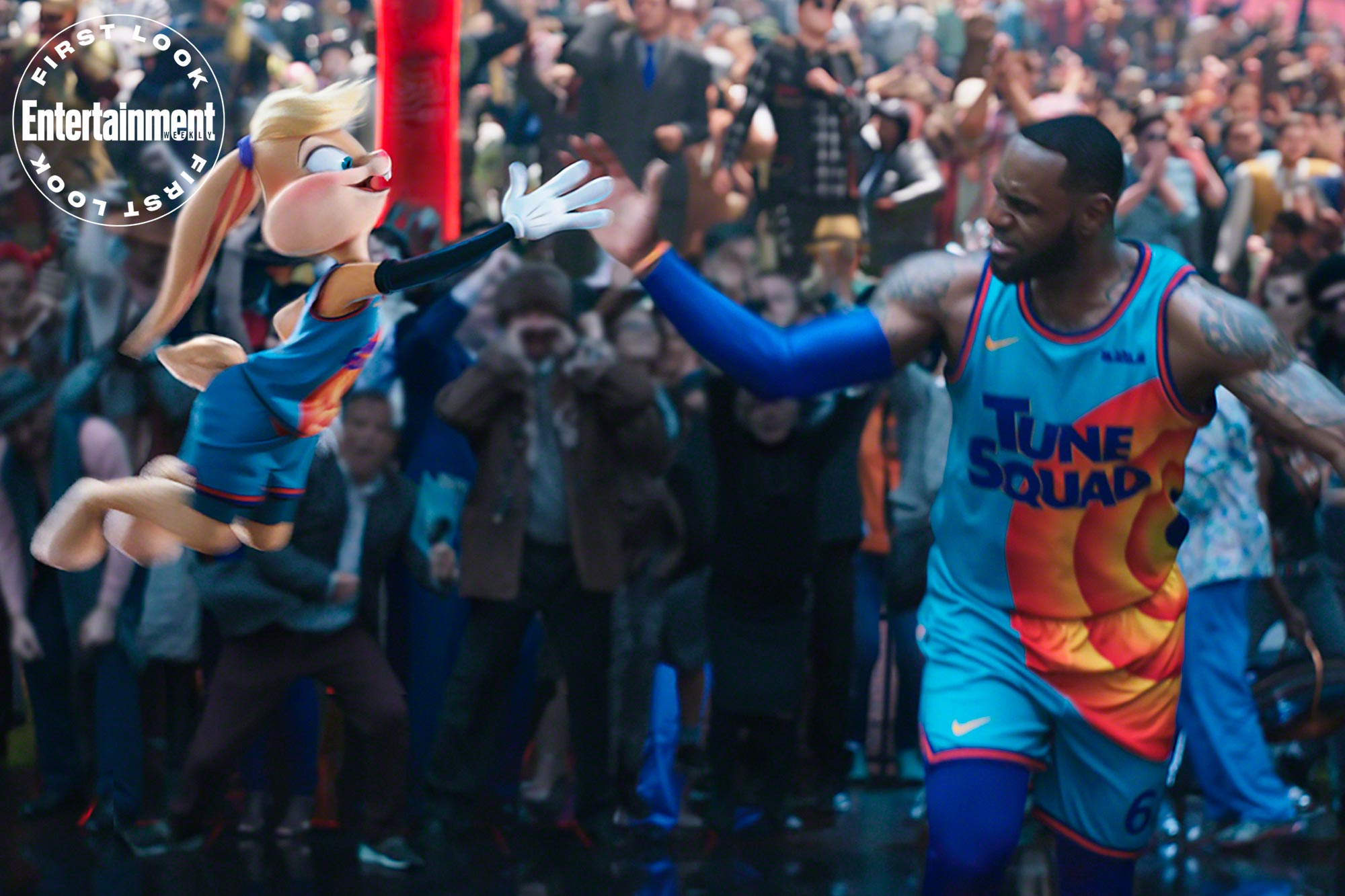 Lola Bunny - Space Jam - A New Legacy - Entertainment Weekly