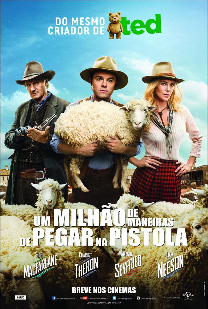 Poster do filme Um Milhão de Maneiras de Pegar na Pistola