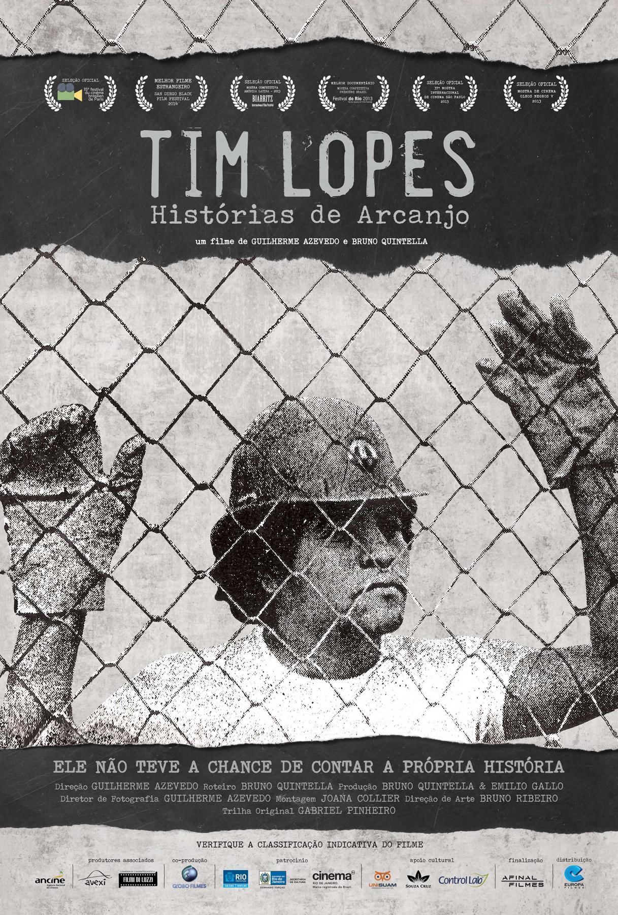 Poster do filme Tim Lopes - Histórias de Arcanjo