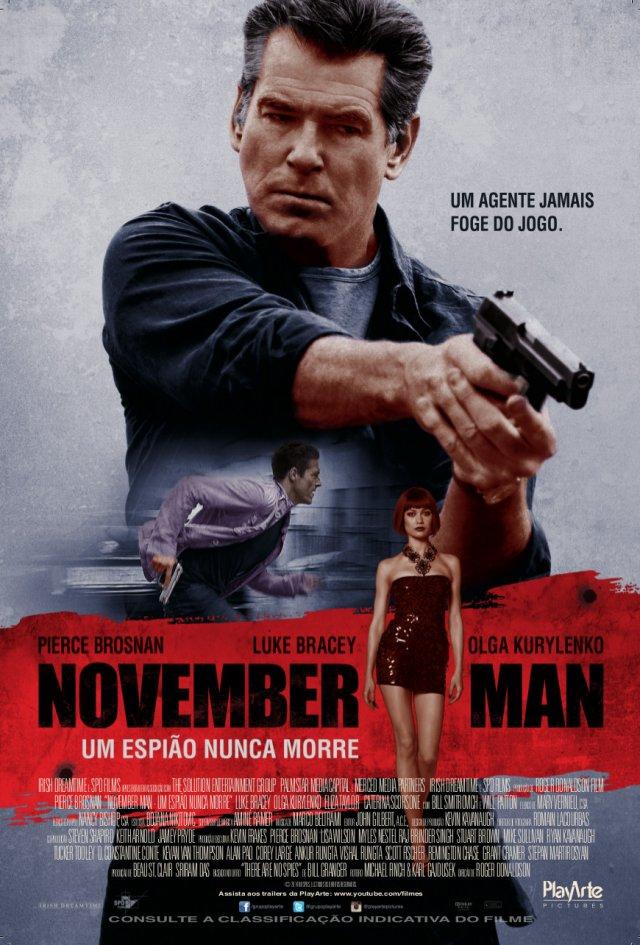 Poster do filme November Man - Um Espião Nunca Morre