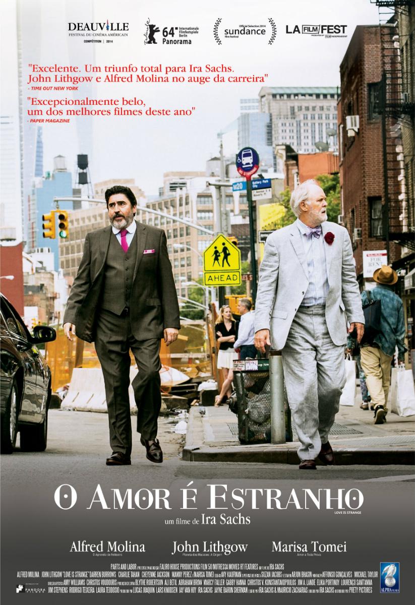 Poster do filme O Amor é Estranho
