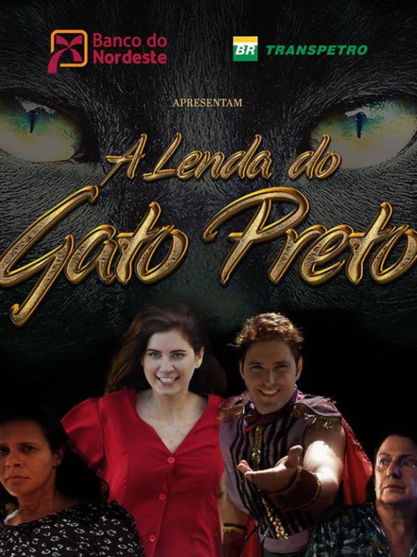 Poster do filme A Lenda do Gato Preto